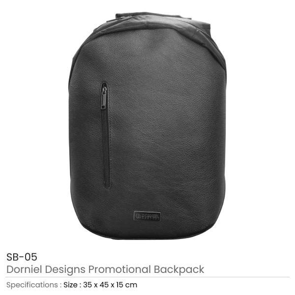 Dorniel Design Leather Backpack