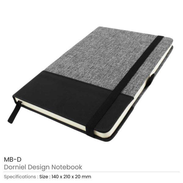 Dorniel Design A5 Size Notebooks