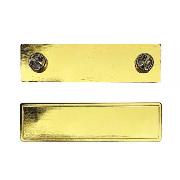 Gold Pin Badges
