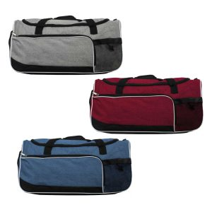 Gym Bag with Shoe and Bottle-Pockets SB-09
