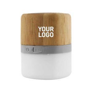 Branding Lamp Bamboo Bluetooth Speaker MS-09