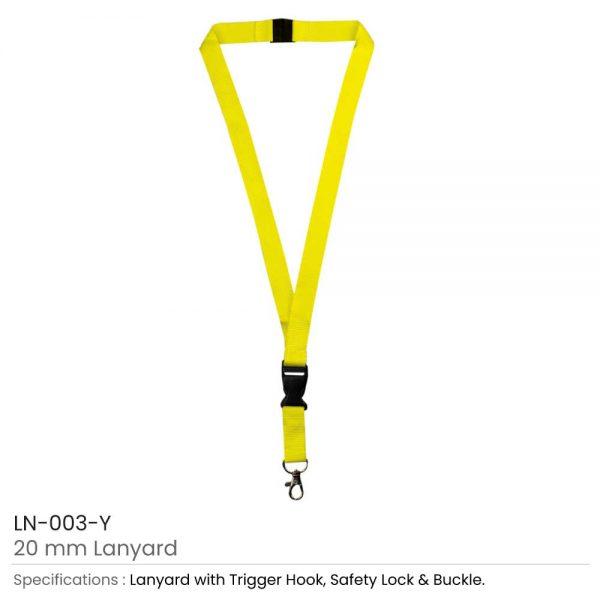 Lanyard Yellow