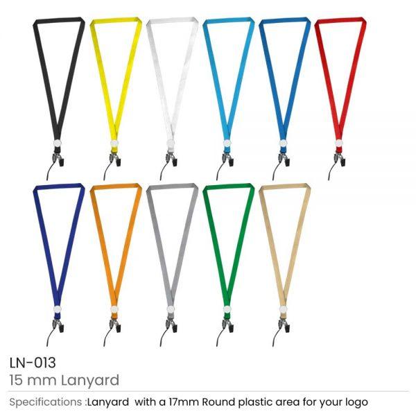 Lanyards with Epoxy Logo Printing