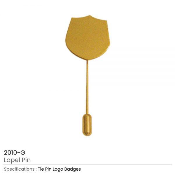 Lapel Pin Gold