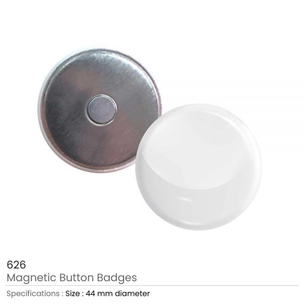 Magnetic Button Badges 44 mm