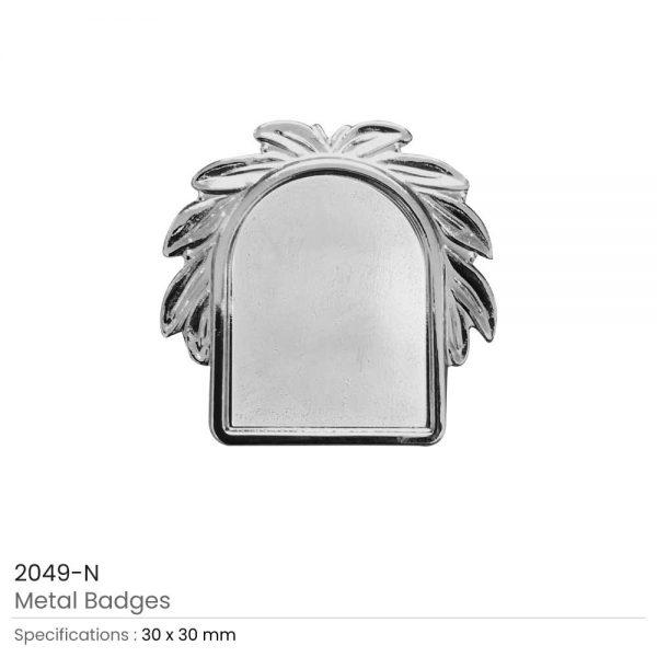 Logo Badges Silver