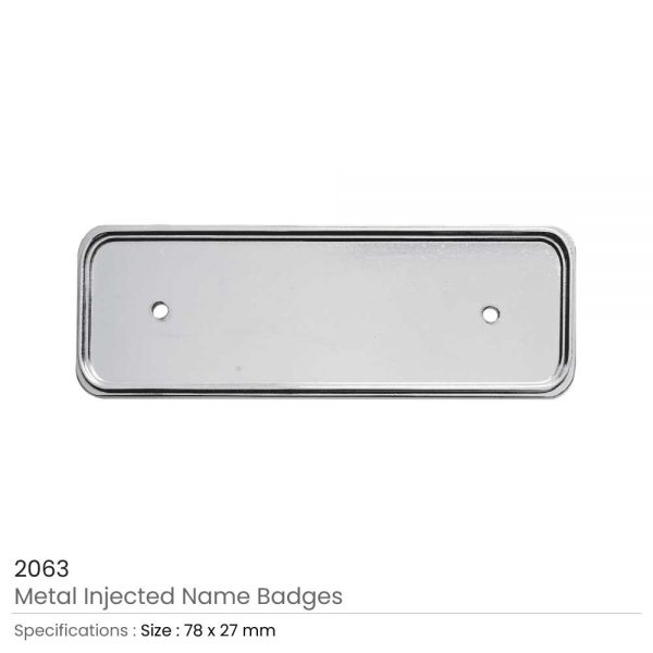 Metal Injected Name Badges