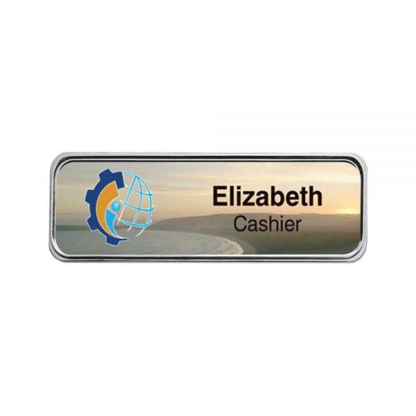 Printed Metal Injected Name Badges