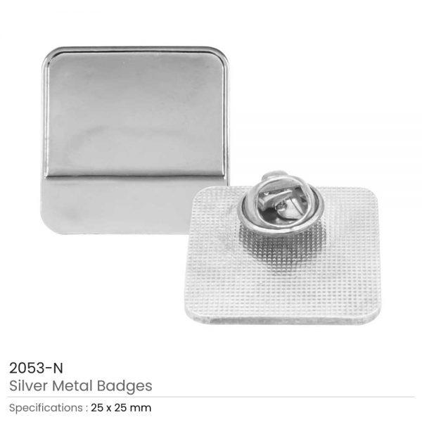 Metal Logo Badges