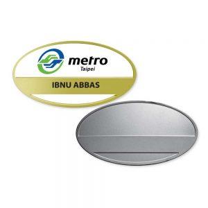 Promotional Metal Name Badges