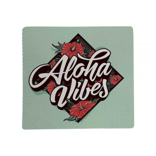 Promotional Non Slip White Fabric Mousepads