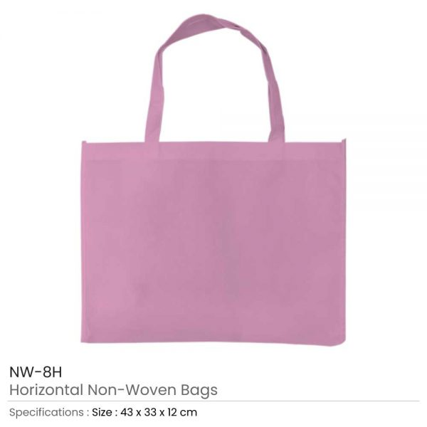 Non-woven Bags Pink