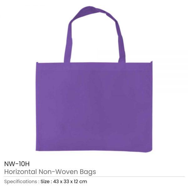 Non-woven Bags Purple