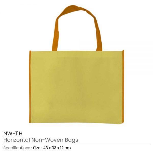 Non-woven Bags Yellow