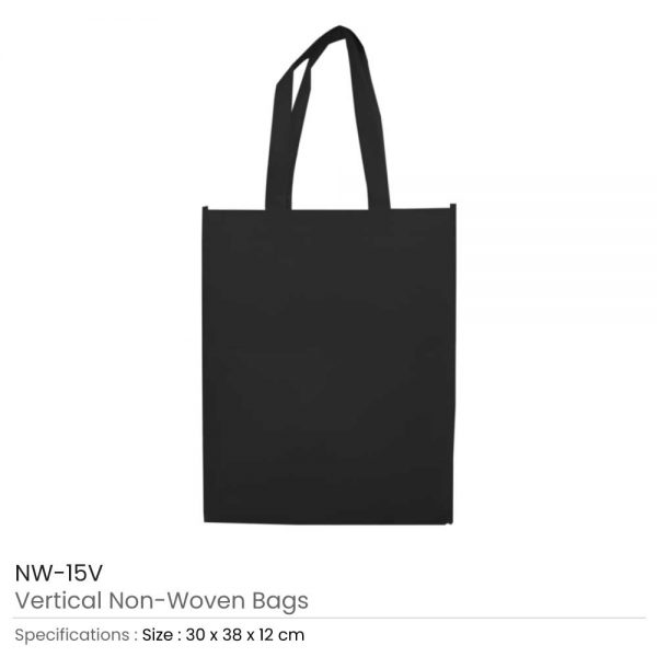 Non Woven Bags Black