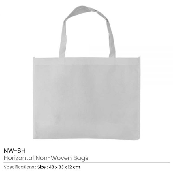 Non-woven Bags White