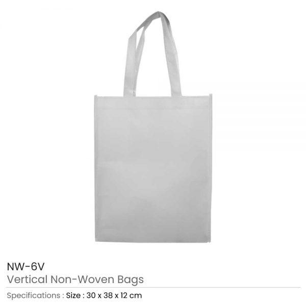 Non Woven Bags White