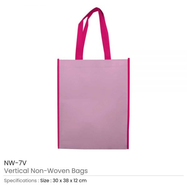 Non Woven Bags Dark Pink and Pink