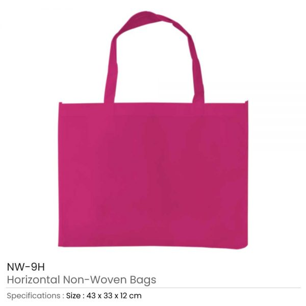 Non-woven Bags Dark Pink