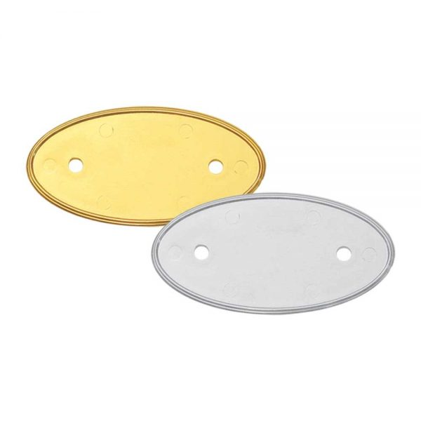PVC Injected Oval Badges