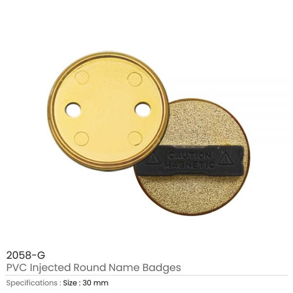 PVC Injected Badges