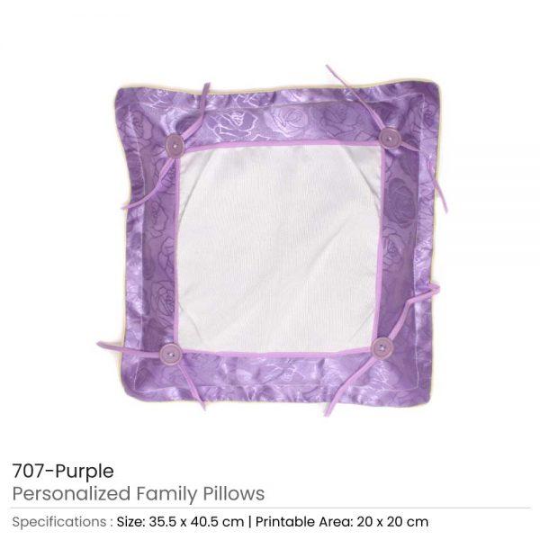 Personalized Pillow Purple