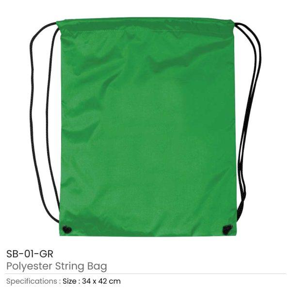 Promotional String Bags SB-01-GR