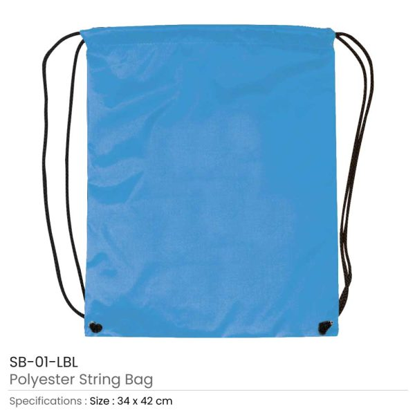 Promotional String Bags SB-01-LBL