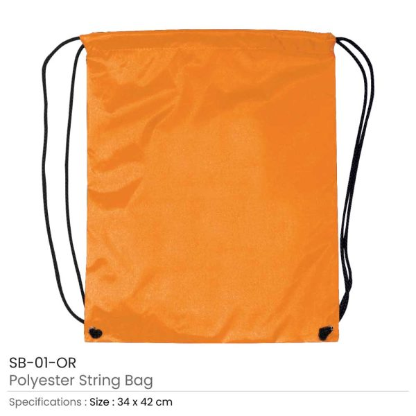 Promotional String Bags SB-01-OR
