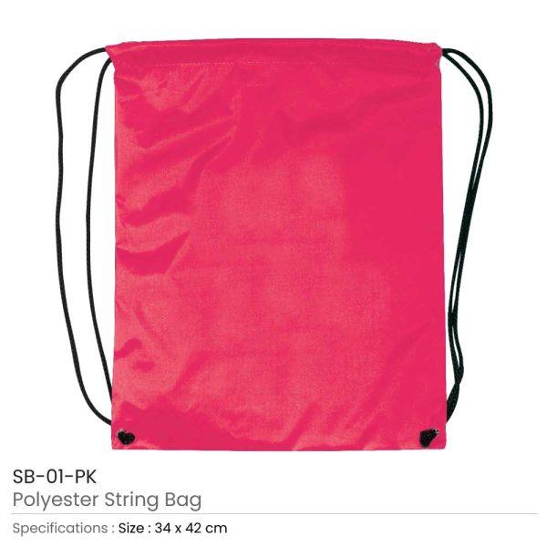 Promotional String Bags SB-01-PK