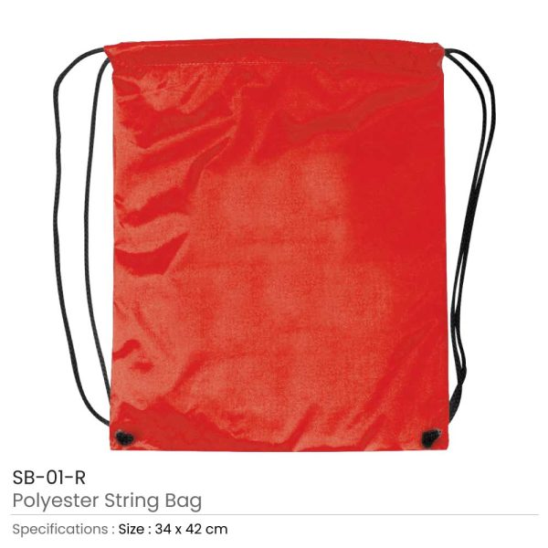 Promotional String Bags SB-01-R