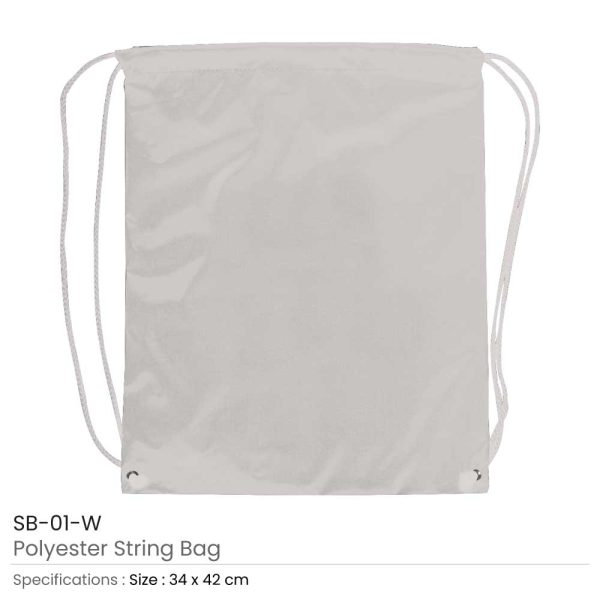Promotional String Bags SB-01-W