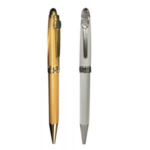 Metal Pens Gold and Silver