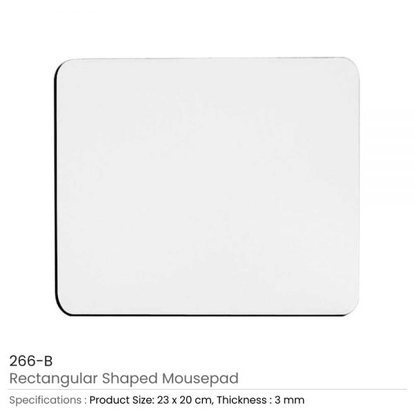 Rectangle Mouse Pads 3 mm