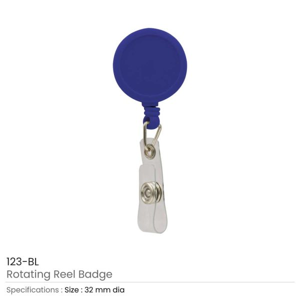 Reel Badges Blue