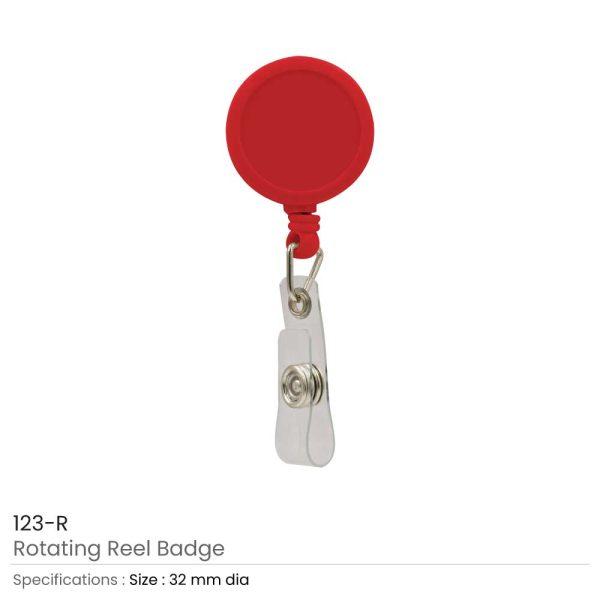 Reel Badges Red