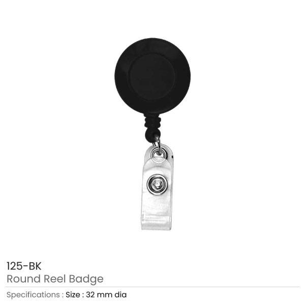 Black Reel Badges