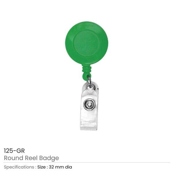 Green Reel Badges