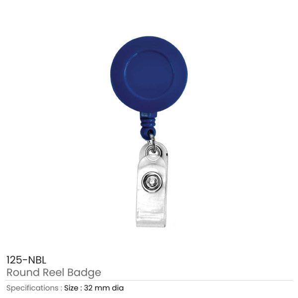 Navy Blue Reel Badges