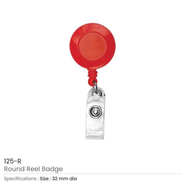 Red Reel Badges