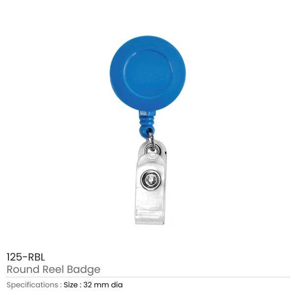 Royal Blue Reel Badges