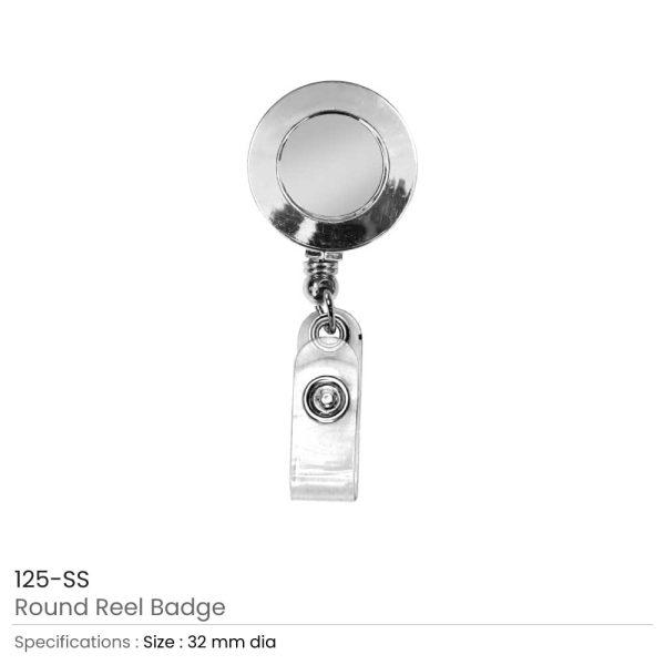 Silver Reel Badges
