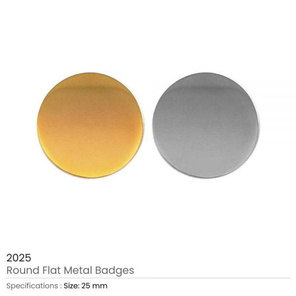 Round Shape Flat Logo Badges