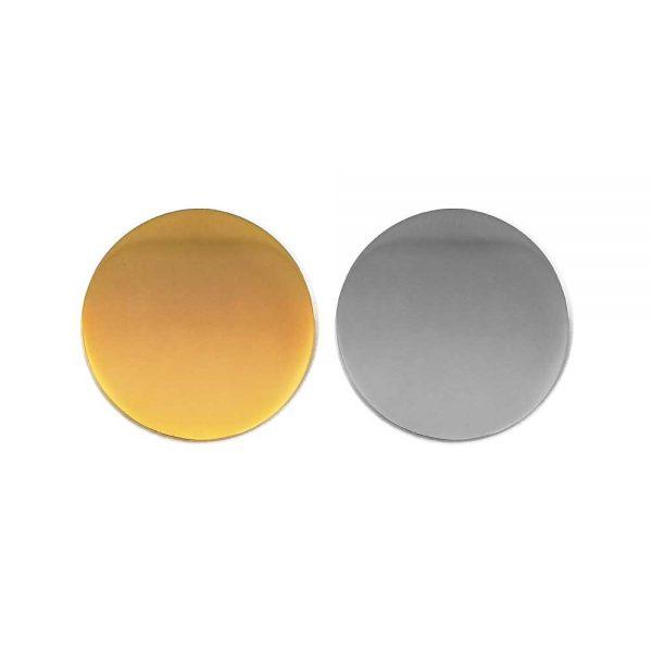 Round Flat Logo Badges