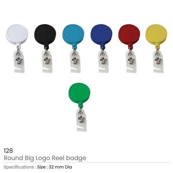 Round Reel Badge