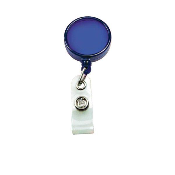 Reel Badges Transparent Blue