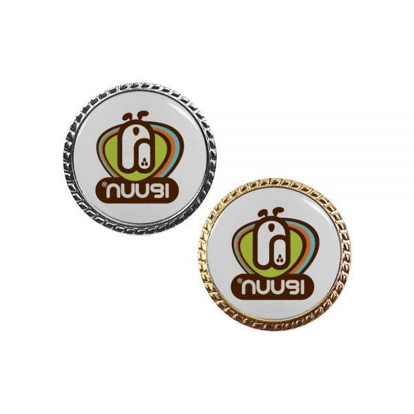 Round Rope Design Logo Badges Printing