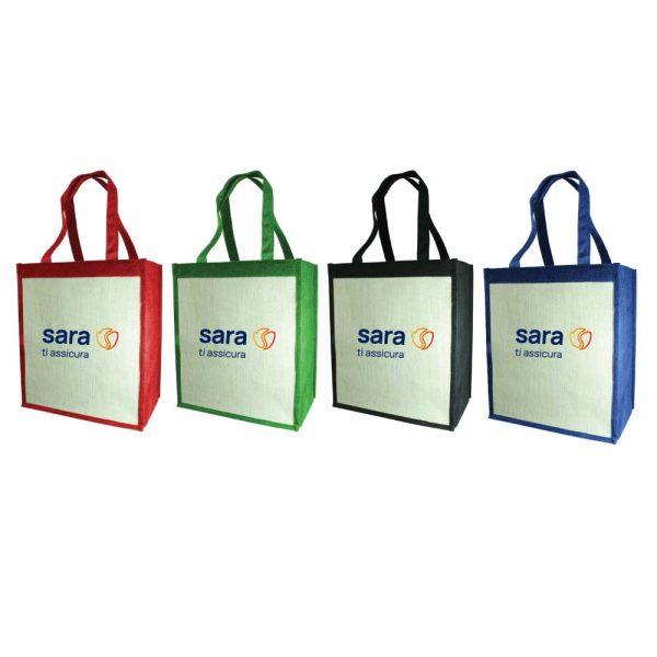 Branding Jute Shoulder Bags
