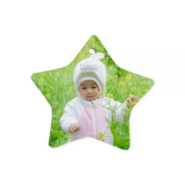 Stars Shape Ceramic Ornaments