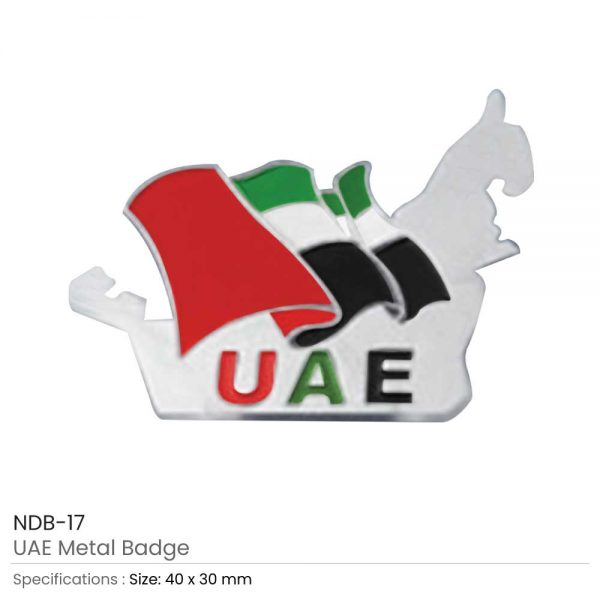 UAE Flag Badges